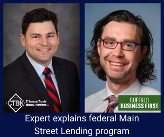 CTBK Finance Expert Chats With Buffalo Business First on Lending Program